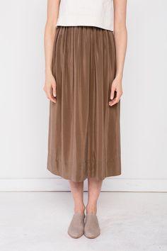 Bel Skirt in Moss - Elizabeth Suzann SS16
