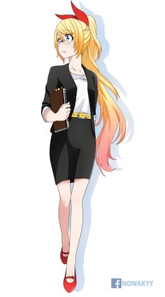 Anime Neko, Manga Anime, Anime Art, Pixar, Blonde Hair Girl, Nisekoi, Animation, Female Characters, Cute Art