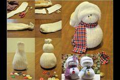 Tubesock snowman! So cute!