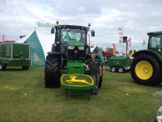 Royal Norfolk show Norfolk, Agriculture, Tractors, Green