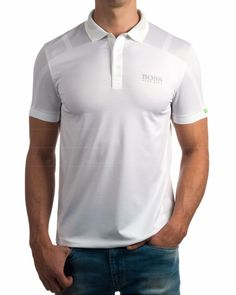 Polos Hugo Boss Martin Kaymer - Paddy MK Blanco Hugo Boss Man, Golf Fashion, Golf Outfit, Boutique, Golf Shirts, Men Looks, Athleisure, Golf Apparel, Casual Styles