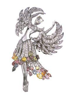 The School of American Ballet Winter Ball, A brooch from the Van Cleef & Arpels Bal de Légende collection