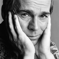 Henk van Ulsen (1927-2009) - Dutch actor. He won the Louis d'Or for best male stage actor in 1970. Photo by Paul Huf, 1973