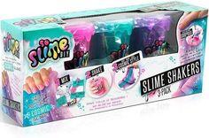 So Slime DIY SSC 003 Shaker 3 in Pack Assorted Colours for sale online Slime Kit, Diy Slime, Slime Sans Borax, Phone Watch For Kids, Perfect Slime, Mermaid Slime, Toys Land, Shaker, Happy Birthday Girls
