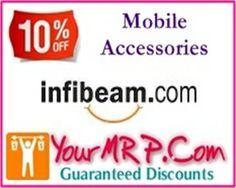 infibeam logo Flat 10% off on Mobile Accessories   Infibeam.Com