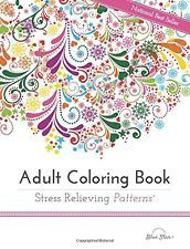 Adult Coloring Book NEW Stress Relieving Patterns Colouring Book for Adults Fun