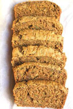 Oil Free Healthy Zucchini Bread Vegan