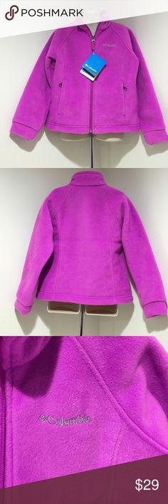 NWT Girl XS (6/6x) Columbia Full Zip Fleece Jacket NWT Three Lakes Full Zip Fleece Comes from a smoke & pet free home, thank you for visiting my Closet HAPPY POSHING💕 Columbia Jackets & Coats