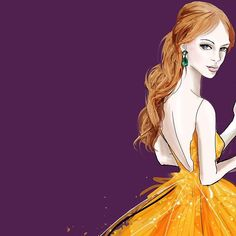 ✨✨✨✨ #fashionillustration #fashion #style #gown #redcarpet #draw #drawing #monicaruf