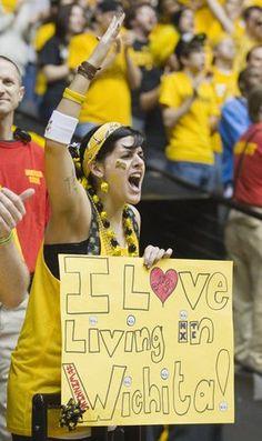 Wichita loves thier Shockers lol