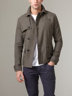 Sandanista by COMUNE  Keith Twill Jacket