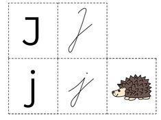 RVP - Abeceda pětice Montessori, Alphabet, Cards, Autism, Alpha Bet, Maps, Playing Cards