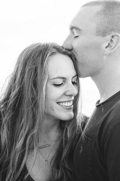 Hannah and Joe's gorgeously romantic beach engagement session at Windansea Beach in La Jolla, CA shows us what military love is all about. Photos by: Studio Sequoia Beach Engagement Photos, Engagement Photography, Engagement Session, Wedding Photography, Military Wedding, Military Love, Military Dresses, San Diego Beach, Navy Wife
