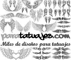 Alas para tatuajes  Para Tatuajes