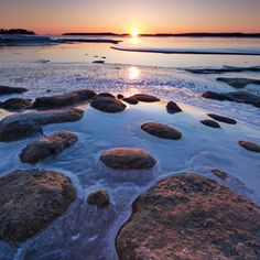 Sunset You Sure, Image Types, Thats Not My, Outdoors, Sunset, Rock, Landscape, Water, Pictures