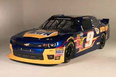 One of the paint schemes Chase Elliott will run for the 2014 Nascar Nationwide Series season