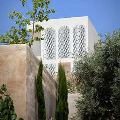 Pierced Screen (Agbaria House by Ron Fleisher Architects)