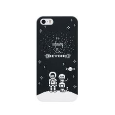 [DOT.CASE] To Infinity and Beyond (black)