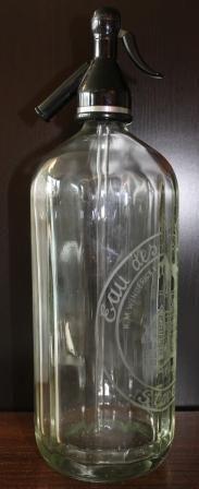 seltzer bottle...