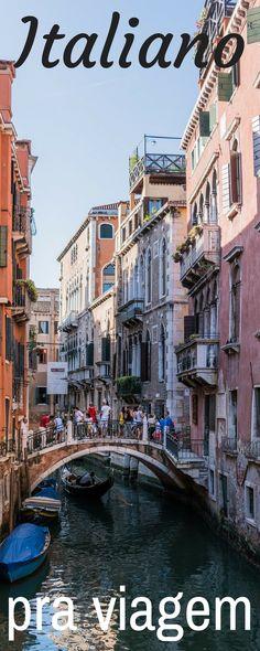 Quando estamos viajando, é legal aprendemos algumas frases na língua do país que vamos visitar, nesse caso aqui, o ITALIANO que assim como o francês, tem muita similaridade com o nosso português.