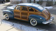1947 Nash Ambassador Suburban Sedan