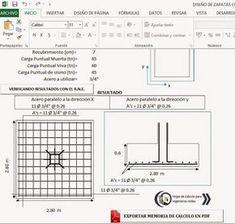 Two way slab reinforcement details pinterest hojas de clculos y programas para ingeniera civil xls hoja de calculo excel malvernweather Gallery