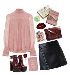 """""""16/36"""" by annasrgvalim on Polyvore featuring мода, WALL, Isabel Marant, Dion Lee, The Cambridge Satchel Company и Lime Crime"""