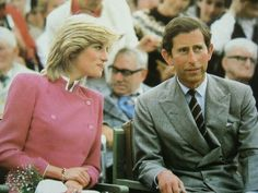 03.27.1985: Charles and Diana attended a luncheon at the Fishmonger's Hall, hosted by the Commonwealth Society For The Deaf.