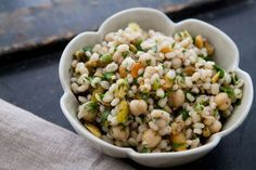 Moroccan Chickpea Barley Salad on Simply Recipes