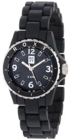Roxy Women's RWWA008-BLK Mini Version Classic Analog Turning Bezel Watch: Watches: Amazon.com