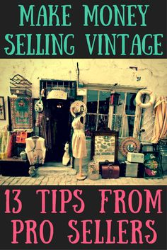 Want to sell vintage? We asked vintage resellers their best tips for shopping estate sales to find deals on unique finds with high resale value.