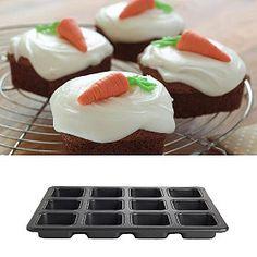 My Kitchen Individual Traybake Pan - makes perfect brownies! No Bake Brownies, No Bake Cake, Tin Loaf, Traybake Cake, Square Cakes, Mini Cakes, Cup Cakes, Cake Decorating Supplies, Baking Tins