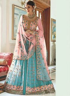 2de1a5c4498e 28 Best Sri Lehenga images | Anarkali suits, Designer saree blouses ...