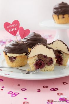 Valentinesday-Cupcakes – MixGenuss Blog Thermomix Cupcakes, Food N, Dory, Cheesecake, Sweets, Blog, Breakfast, Desserts, Recipes