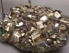 Mineral Photo Gallery: Pyrite or Fool's Gold Crystals- Mineral Specimens