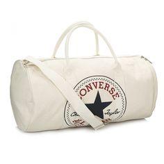 a37cd743c616 Converse Graphic Canvas Natural Duffel Bag