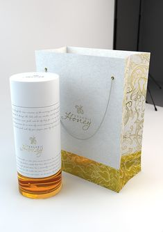 Organic Honey packaging concept on the Behance Network - honey jar, bag and label packaging design