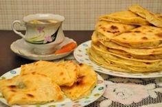 Кыстыбый - вкусные татарские лепешечки с картошкой-пюре
