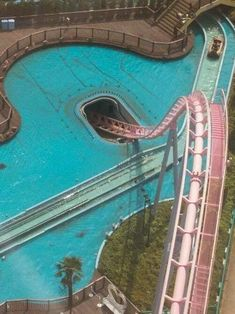 Underwater Roller Coaster in Japan