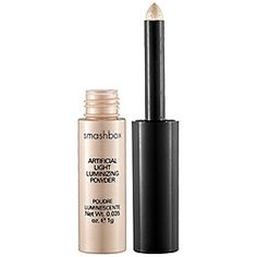 Smashbox - Artificial Light Luminizing Powder - I use this on the inner corners of my eyes....brightens them right up!