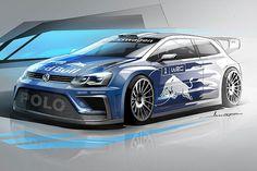 VW Polo WRC 2017 Konzept