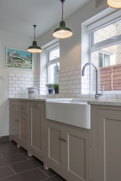 Galley Kitchens Modern Design With Recessed Lighting Fixtures. Image Of One Way Galley Kitchen Lighting. Inspiring Galley Kitchen Lighting With Hanging Home Kitchens, Kitchen Design, Kitchen Tiles, Kitchen Inspirations, Devol Kitchens, New Kitchen, White Galley Kitchens, Kitchen Styling, Wooden Kitchen