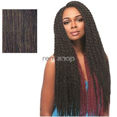 Mon Dec 26, 2016 - #7: African Collection Samba Twist - Color 4 - Synthetic Braiding