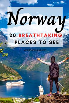 Planning a trip to Norway? Want to know the best places to visit? If you travel to Norway, make sure you include these places- including Fjords, photography spots and more. In summer, you can hike and…More Top Travel Destinations, Best Places To Travel, Cool Places To Visit, Nightlife Travel, Norway Travel Guide, Europe Travel Guide, Norway Vacation, Italy Vacation, Italy Travel