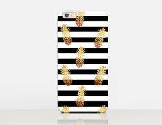 Gouden ananas telefoon Case - iPhone 6 Case - iPhone 5 Case - iPhone 4 zaak - Samsung S4 zaak - iPhone 5C - moeilijke zaak - de zaak van de Matte - Samsung