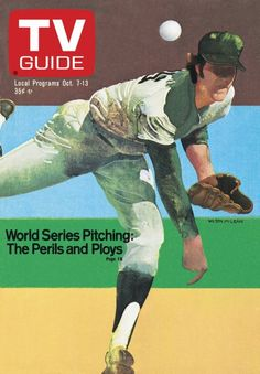 October 1978 - World Series Pitching: The Perils & Ploys 1978 World Series, Television Tv, Great Tv Shows, Vintage Tv, Tv Guide, Old Tv, Movies And Tv Shows, Good Books, Movie Tv
