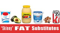 Fat Substitutions for Skinnier Recipes...great info!