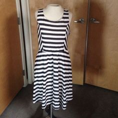 Striped Dress For Summer! Adorable! Sale!