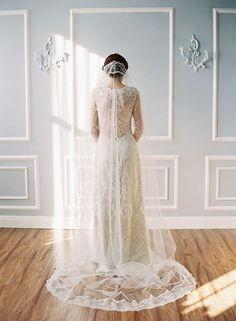 Sau này nhất định mình phải là một cô dâu thiệt đẹp.