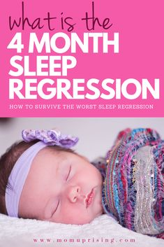 Baby suddenly acting like demon spawn that won't sleep? It's probably the 4 month sleep regression. Learn why this is happening and how to deal. Four Month Sleep Regression, Crying It Out Method, Toddler Sleep, Kids Sleep, Baby Sleep Schedule, Baby Boy Swag, Kids And Parenting, Parenting Advice, Gentle Parenting